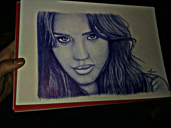 Jessica Alba por Gaby